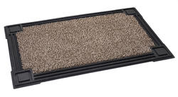 """Premium Astroturf Scraper Mat with recycled rubber border 18"""" x 30"""""""