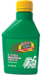 Quaker State® Small Engine Universal 2-Cycle Oil - 8 oz.