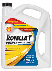Shell Rotella® T Triple-Protection® 10W-30 Heavy-Duty Motor Oil - 1 Gal.