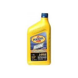 Pennzoil Marine® Premium Plus Outboard 2-Cycle Synthetic Blend Oil - 16 oz.