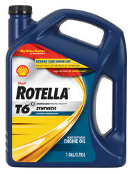 Shell Rotella® T6 5W-40 Full Synthetic Heavy-Duty Engine Oil - 1 Gal.