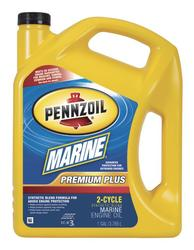 Pennzoil Marine® Premium Plus Outboard 2-Cycle Synthetic Blend Oil - 1 Gal.