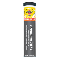 Pennzoil® Red Premium Wheel Bearing 707L Grease - 14 oz.