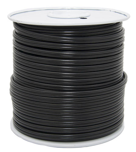 Low Voltage Wire For Landscape Lighting : Black low voltage landscape lighting cable at menards?