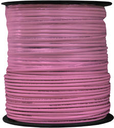500' #12 Pink Solid THHN Building Wire