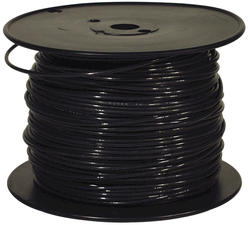 500' #14 Black Solid THHN Building Wire