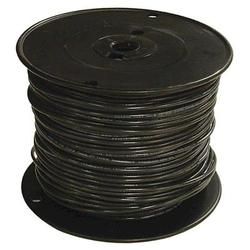500' #6 Black Stranded THHN Building Wire