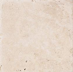 "Natural Choice Tumbled Travertine Floor or Wall Tile 4""x4"""