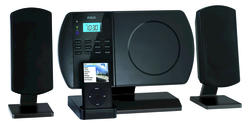 Audio Shelf System with iPod Dock