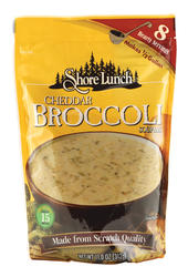 Shore Lunch Cheddar Broccoli Soup Mix - 11 oz.