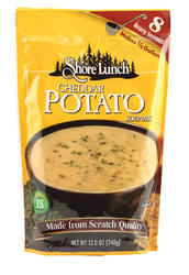 Shore Lunch Cheddar Potato Soup Mix - 12 oz.