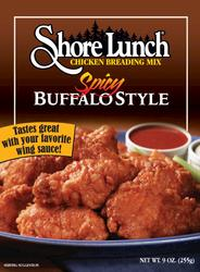 Shore Lunch Spicy Buffalo-Style Breading Mix - 9 oz.