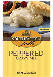 Southeastern Mills Old Fashioned Peppered Gravy Mix - 2.75 oz.