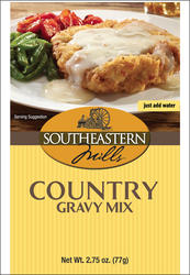 Southeastern Mills Country White Gravy Mix - 2.75 oz.