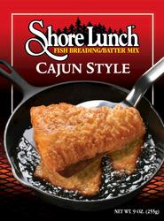 Shore Lunch Cajun Style Fish Breading/Batter Mix - 9 oz.