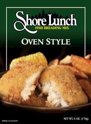 Shore Lunch Oven Style Fish Breading Mix - 9 oz.