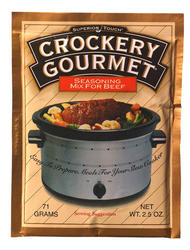 Crockery Gourmet Beef Seasoning - 2.5 oz.