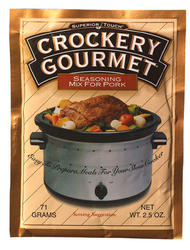 Crockery Gourmet Pork Seasoning - 2.5 oz.