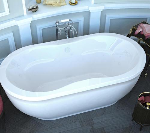bonnie 34 x 71 freestanding soaker bathtub at menards