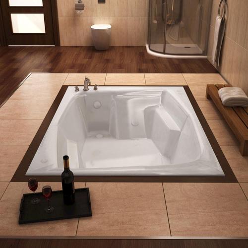 stallion 54 x 72 rectangular soaking bathtub at menards