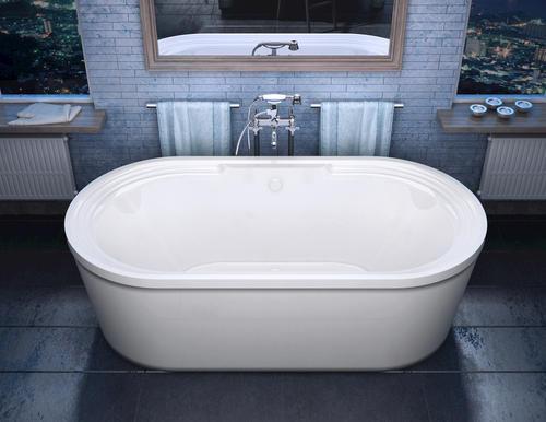 grande 34 x 67 freestanding soaker bathtub at menards