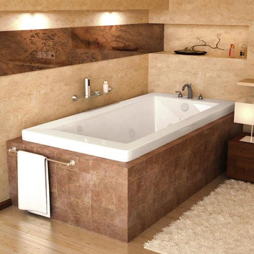 marshall 30 x 60 rectangular whirlpool jetted bathtub