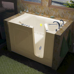 """Meditub 30"""" x60"""" Right Drain Biscuit Air Therapy Walk-In Bathtub"""