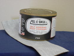 "Pol-E-Base 4"" x 16' Reinforcing Roof Fabric"