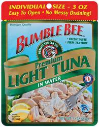 Bumble Bee Light Tuna in Water - 2.5 oz
