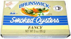 Brunswick Smoked Oysters - 3 oz