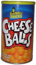 Grandpapa's Cheese Balls - 4.5 oz