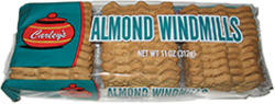 Carley's Almond Windmill Cookies - 11 oz