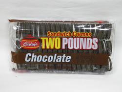 Carley's Chocolate Sandwich Cremes - 32 oz