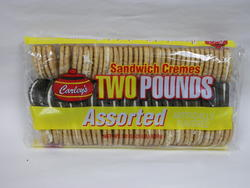 Carley's Assorted Sandwich Cremes - 32 oz