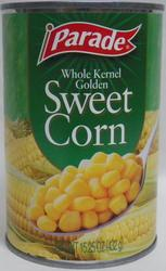 Parade Whole Kernel Golden Sweet Corn - 15.25 oz
