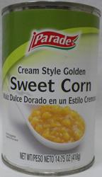 Parade Cream Style Golden Sweet Corn - 15 oz