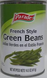 Parade French Style Green Beans - 14.5 oz