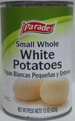 Parade Small Whole White Potatoes - 15 oz
