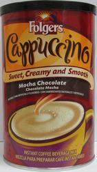 Folgers Mocha Chocolate Cappuccino Mix - 16 oz