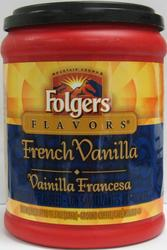 Folgers Flavors® French Vanilla Ground Coffee - 11.5 oz
