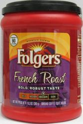 Folgers French Roast Ground Coffee - 10.3 oz