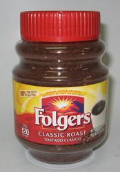 Folgers Classic Roast Instant Coffee Crystals - 8 oz