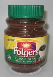 Folgers Classic Decaf Instant Coffee Crystals - 8 oz