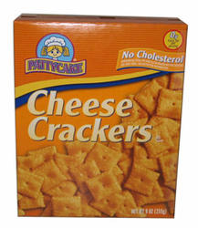 PattyCake Cheese Crackers - 9 oz