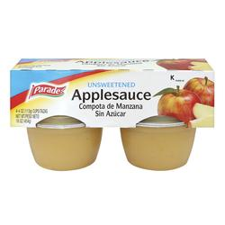 Parade Unsweetened Applesauce