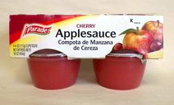 Parade Cherry Applesauce