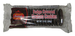Carley's Fudge Covered Graham Cookies - 13 oz