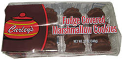 Carley's Fudge Covered Marshmallow Cookies - 12 oz
