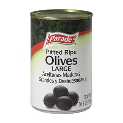 Parade Large Pitted California Ripe Olives - 6 oz