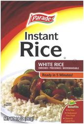 Parade Instant White Rice - 14 oz